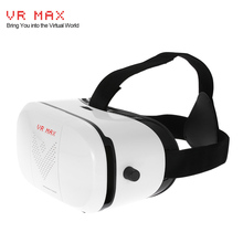 "VR MAX VR Box Glasses Virtual Reality Glasses 3D VR Headset Glasses Movie Game Head-Mounted Display Headband for 3.5~6"" Devices"
