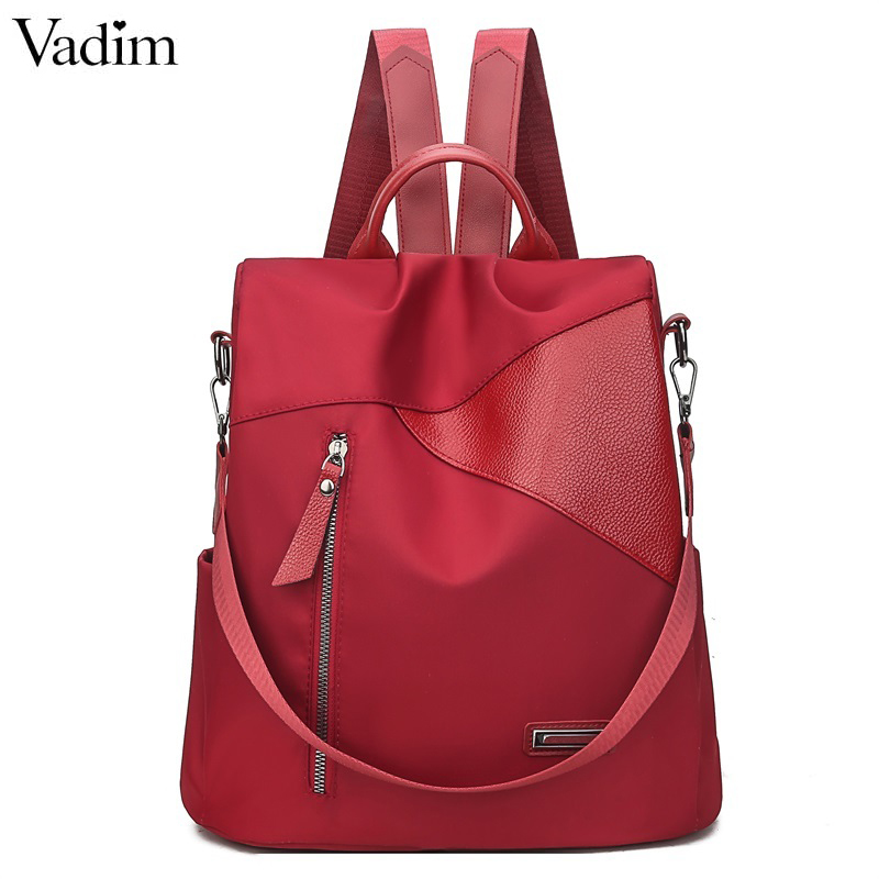 Vadim 2019 Oxford Backpack Women Cute Cats Pendant Bags Laptop Female Backpack School Bags For Teenager Girls Book Bag Sac A Dos