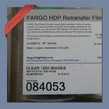 Fargo 84053 fita para hdp5000 impressora de cartões retransferência filme