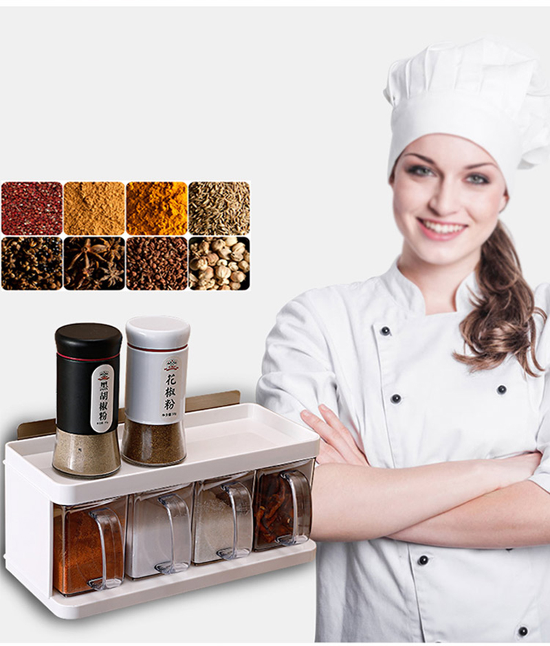 Kitchen salt and sugar seasoning box18