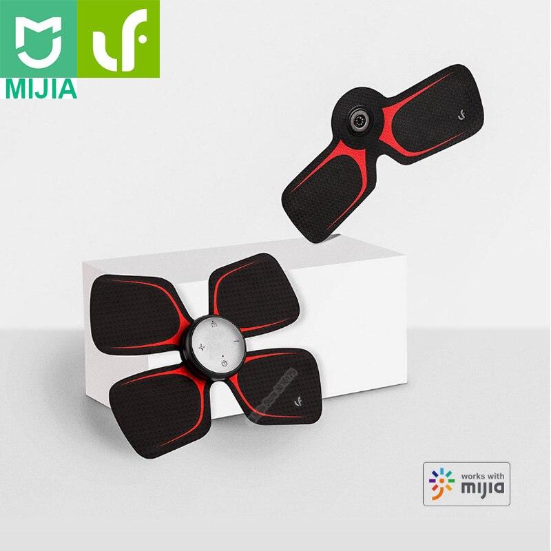 Xiaomi Mijia LF autocollant magique de Massage à quatre roues motrices masseur électrique intelligent corps Relax travail musculaire avec l'application Mijia-in Télécommande connectée from Electronique    1