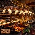 Американский Железный Ретро Творческий Чердак Подвесной Светильник Для Кафе Клуб Дома Гостиная Художественная ковка Лампы E27 Лампы