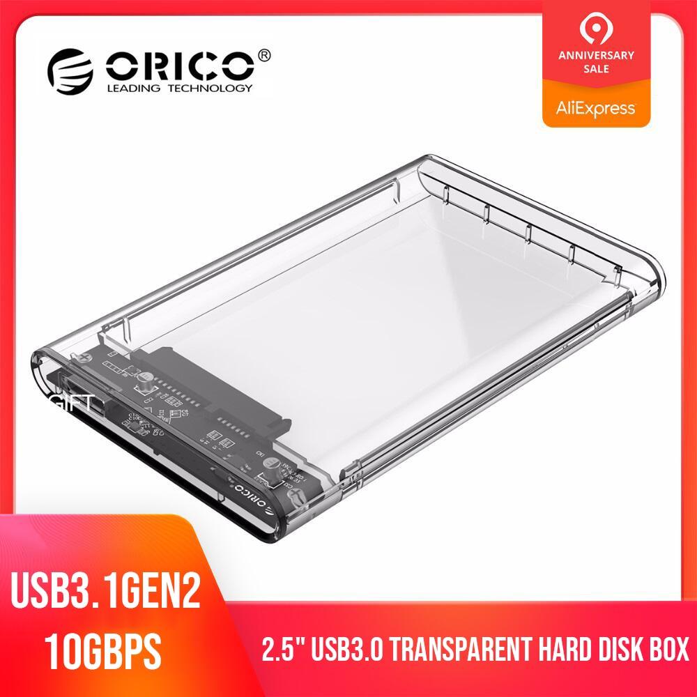 ORICO 2139U3-CR USB 3.0 Disco Rígido Externo Recinto Caso SSD para SATA HDD SSD 2.5in SATA de Apoio UASP 2TB gabinete de disco Rígido