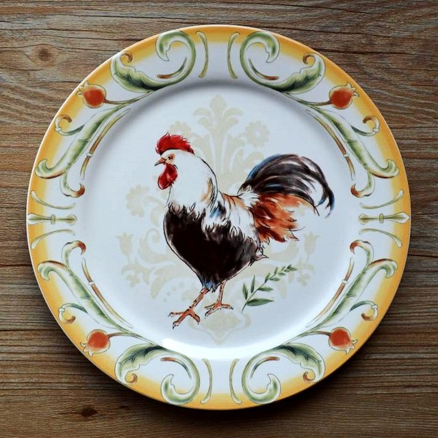 Earendil/American French country ceramics tableware/decorative plates at him/western food & Earendil/American French country ceramics tableware/decorative ...