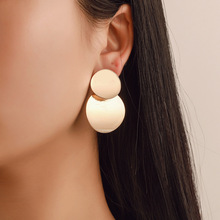 цены на Fashion Statement Earrings Big Geometric earrings For Women Hanging Dangle Earrings Drop Earing modern Jewelry  в интернет-магазинах