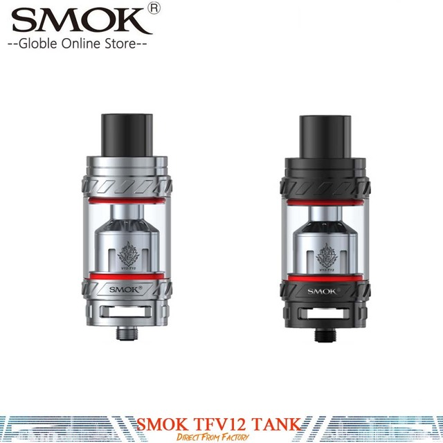 100% オリジナル SMOK TFV12 電子タバコタンクリークプルーフ 6 ミリリットルサブオーム TFV-12 タンク用 350 ワット Smok GX350/G priv 220