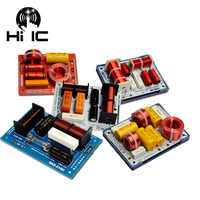 Divisor de frecuencia de Audio HiFi, 2 unidades, filtros cruzados de 2 vías, 130W -300W, 5-8 ohm, 1 Uds.