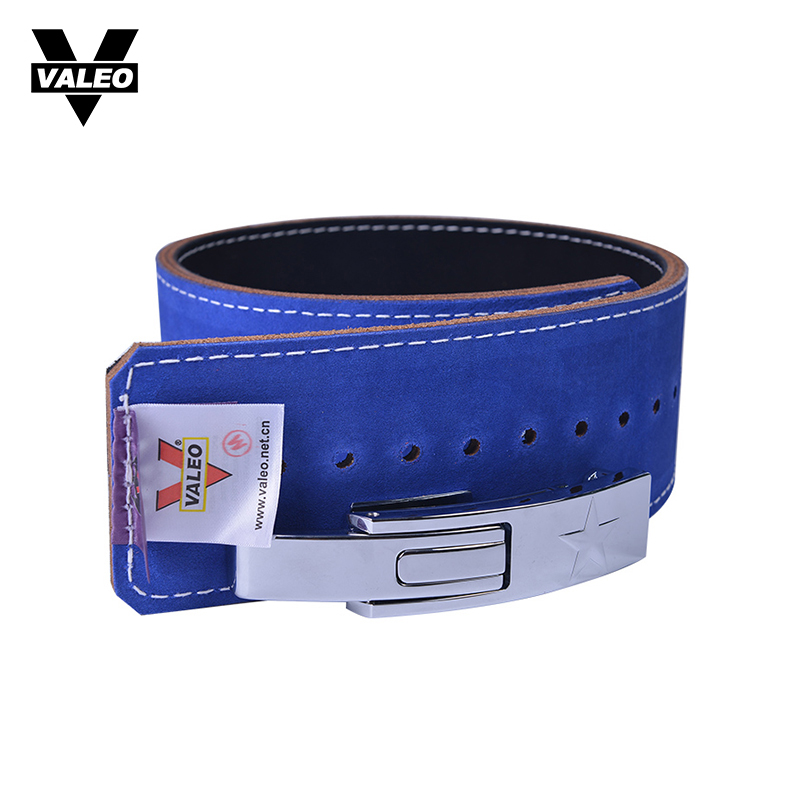 VALEO Cowhide Leather Weightlifting Belt Men Lumbar Protection Gym Fitness Training Squats Powerlifting Back Weight Lifting Belt цены онлайн