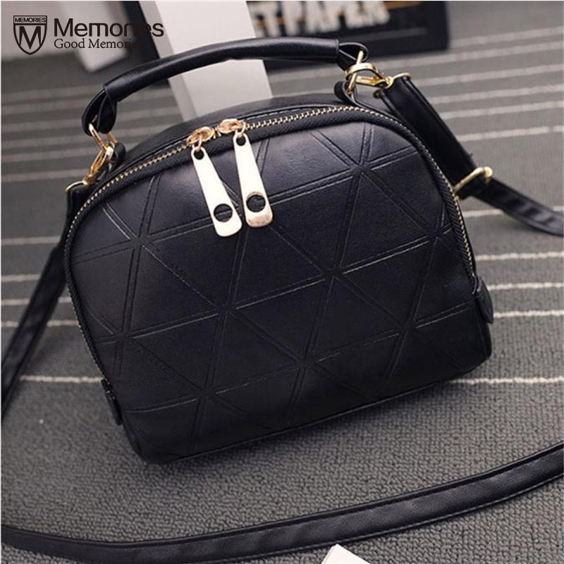 2018 New Arrival Fashion Womens Handbag Shoulder Bag Lady Tote Purse PU Leather Women Messenger handbags sac a main Winter