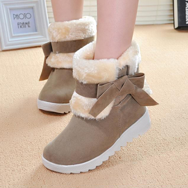 2016 new arrival Ankle boots font b Women b font boots winter boots flat platform shoes