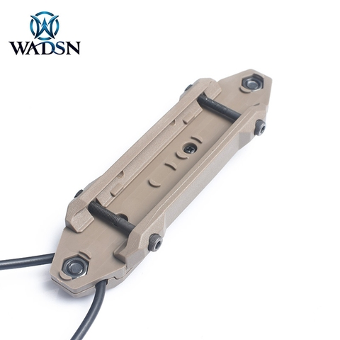 wadsn airsoft remoto duplo interruptor 25mm tomada