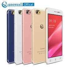D'origine Gooweel M7 3G Mobile téléphone 5.5 pouce IPS écran MTK6580 quad core smartphone GPS 1 GB RAM 8 GB ROM WCDMA téléphone portable 8.0MP