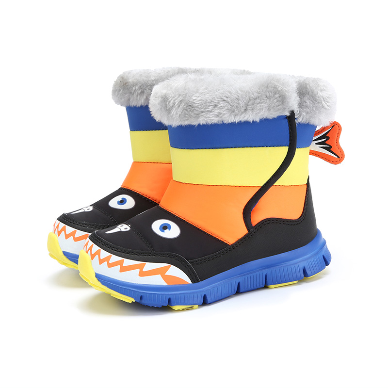 Childrens cotton shoes winter boys, tube winter boots, childrens warm waterproof cotton boots children Bao BaonvChildrens cotton shoes winter boys, tube winter boots, childrens warm waterproof cotton boots children Bao Baonv