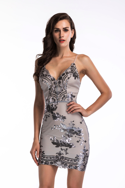 2020 Luxury Sexy Sequins PArty Dress 47