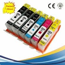 6 x Ink Cartridges For HP 364 XL 364XL HP364 HP364XL Photosmart B8550 C6324 D5400 D7560 B110c eStation C510a Inkjet Printer