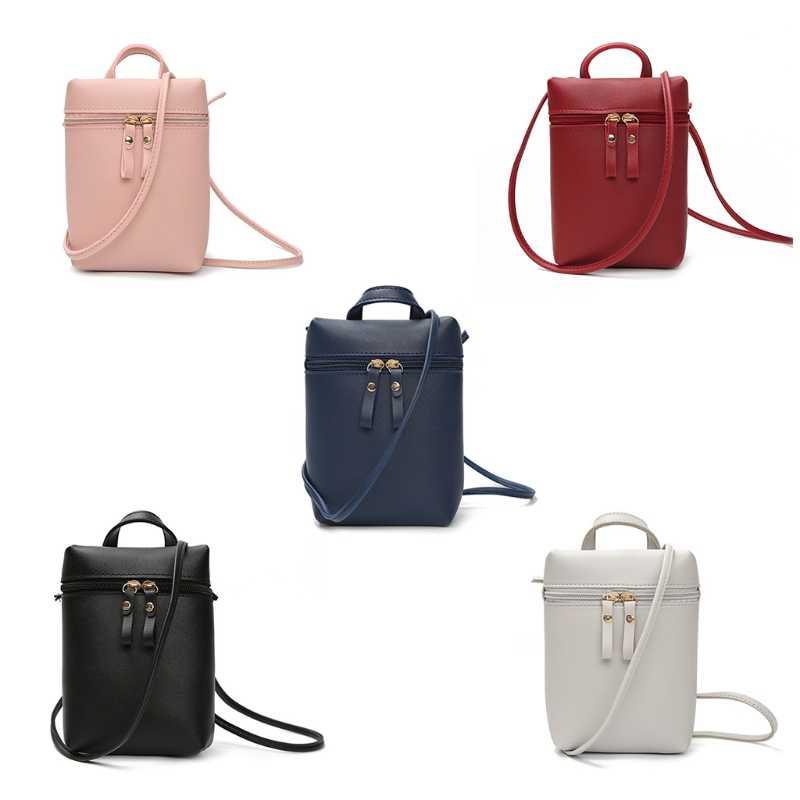 a3a8611c2c Women Girls Mini Keys Phones Coin Shoulder Bag Messenger Crossbody Bucket  Bags