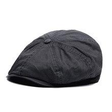 2017 Popular Design Cotton Newsboy Caps Fashion Vintage Retro Gorras Newsboy Caps for Women Men Hat Beret Dad Hat