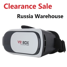 Clearance Sale VR BOX II 2.0 Google Cardboard HeadMount Version VR Virtual Reality 3D Glasses for 3.5 – 6.0 inch Smart Phone