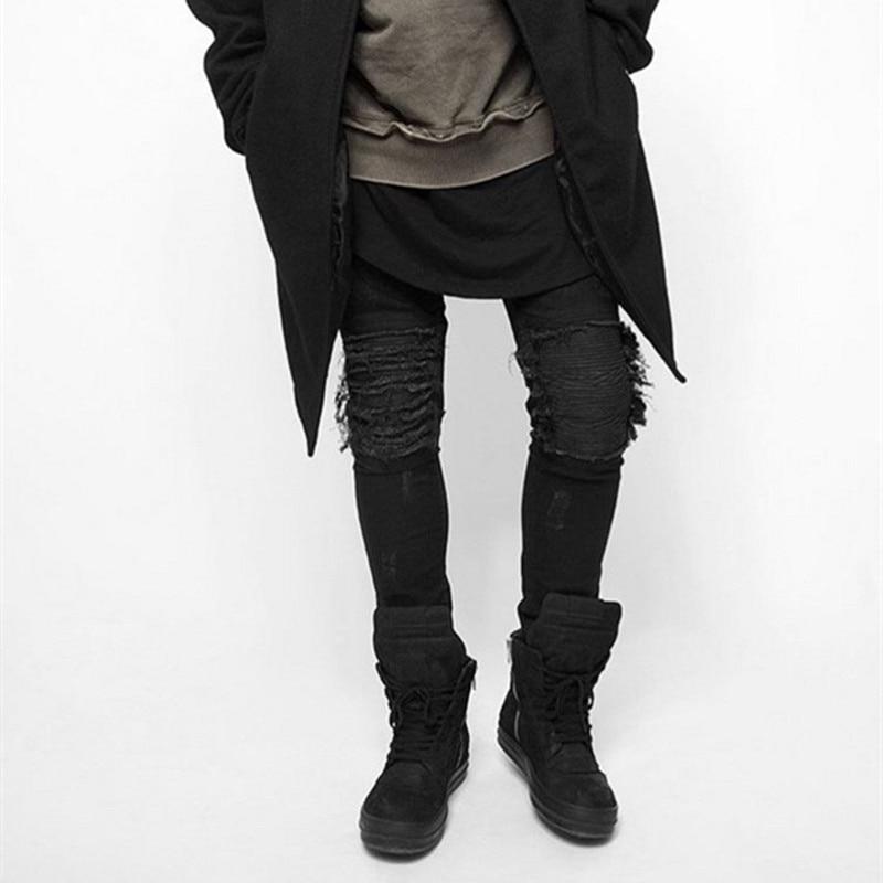 Online Get Cheap Black Ripped Skinny Jeans -Aliexpress.com
