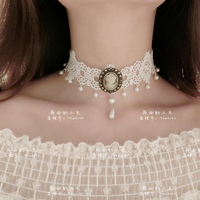 Fashion Jewelry Maxi Necklace For Women New Hot Rhinestone Beads Collar Choker Necklace Tassel Statement Collier C511