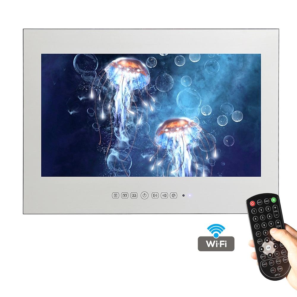 Miroir Salle De Bain Wifi ~  souria 32 pouce magique miroir android de luxe smart tv t l vision