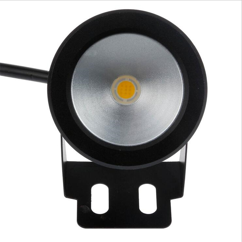 Led Lamps Competent 10w 12v Led Underwater Fountain Light 1000lm Swimming Pool Pond Fish Tank Aquarium Led Light Lamp Ip68 Waterproof Black/sliver Selected Material Led Underwater Lights