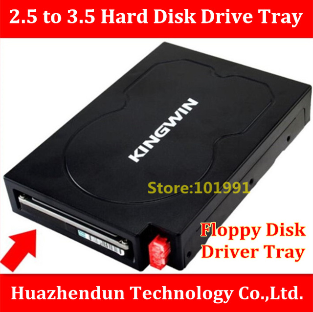 TOP SELL High Quality  2.5 inch to 3.5 inch Hard Disk Driver  Bracket  SATA Interface  Desktop  Case  Floppy  Disk  Driver Tray