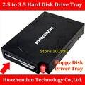 TOP VENDA de Alta Qualidade de 2.5 polegada a 3.5 polegada Disco Suporte de Driver de disco SATA Caso de Desktop Interface de Driver de Disquete bandeja