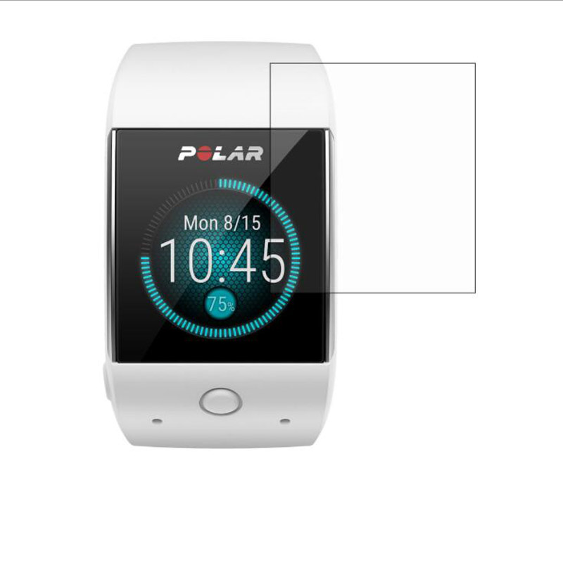 Protective-Film-Guard Cover-Protection Smart-Watch Polar M600 Sporting 3pcs for Pet-Clear