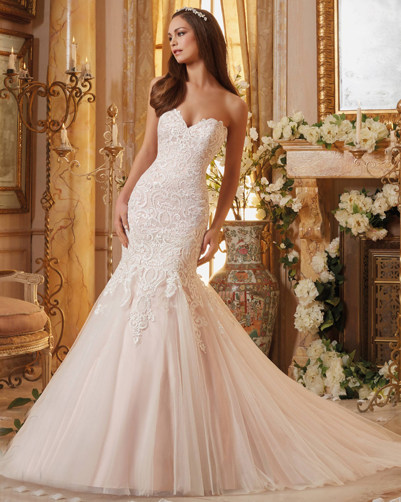 style 5461 vintage designer wedding dresses mermai