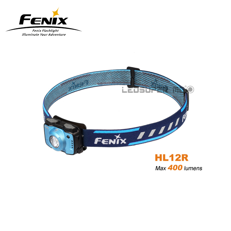 Fenix HL12R Cree XP-G2 Neutral White LED Light Rechargeable Outdoor Headlamp with High Performance and Super Compactness fenix cree xp e2 r5 led 450lumens 4aa batteries headlamp headlight