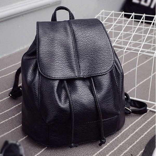 Рюкзаки Мода fenale сумка твердые PU кожаный рюкзак мягкий тиснением  школьные сумки рюкзак Для женщин 6dcc52c3464