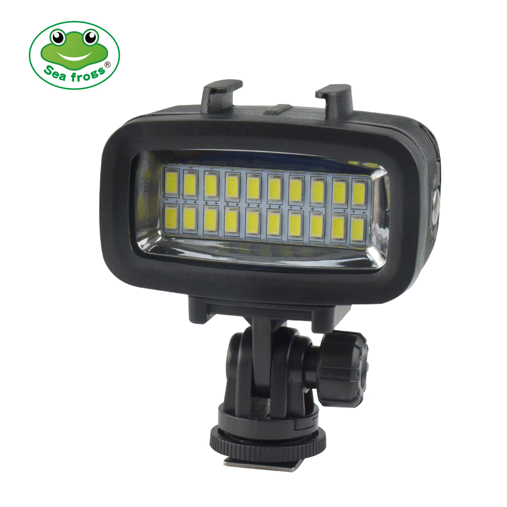 Seafrogs Photography Lighting Waterproof Video LED Light Underwater Fill-in Light Lamp With Filter for Go Pro SJCAM Xiaomi Yi Seafrogs Photography Lighting Waterproof Video LED Light Underwater Fill-in Light Lamp With Filter for Go Pro SJCAM Xiaomi Yi