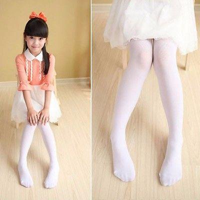 Kids-Girls-Baby-Soft-Pantyhose-Tights-Stockings-Ballet-Dance-Velvet-SML-4