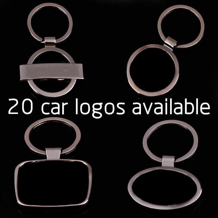 Металлический автомобильный брелок с логотипом для AUDI BENZ Эмблема Chevrolet Citroen Ford Buick Peugeot, Opel Kia hyundai CNYOWO