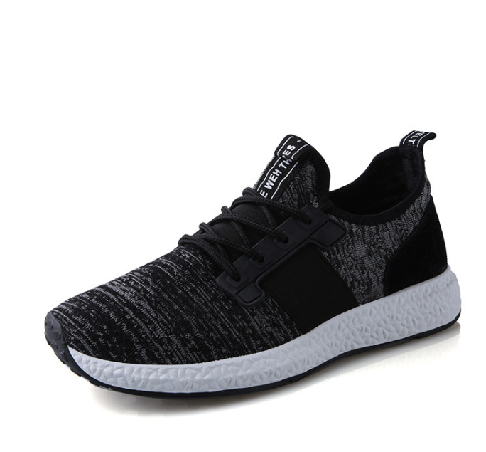2018 Flying woven lightweight casual running shoes tide shoes breathable Korean version wear new autumn sports