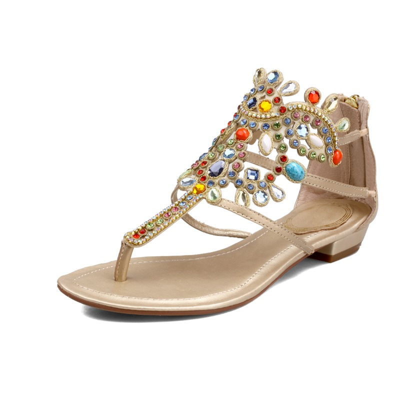 Online Buy Wholesale Beach Wedding Flip Flops From China -4382