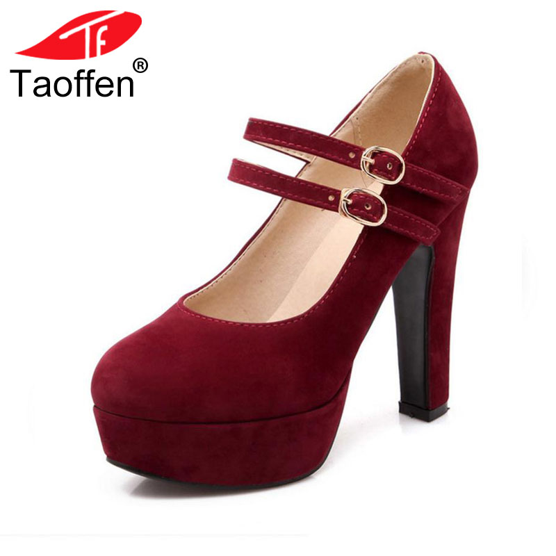 TAOFFEN women stiletto high heel shoes sexy lady platform spring fashion heeled pumps heels shoes plus big size 31-47 P16737 coolcept women stiletto high heel shoes sexy lady platform spring fashion heeled pumps heels shoes plus big size 31 47 p16738