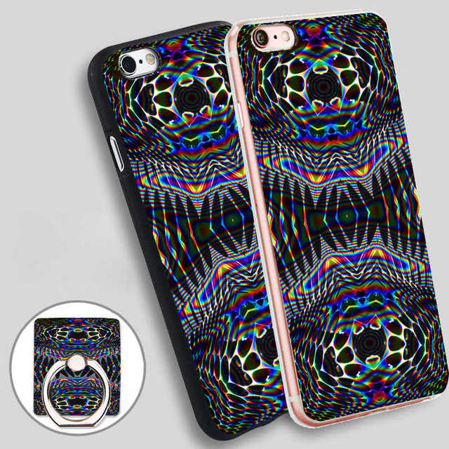 Psychedelic Wallpaper Tumblr Soft Tpu Silicone Phone Case