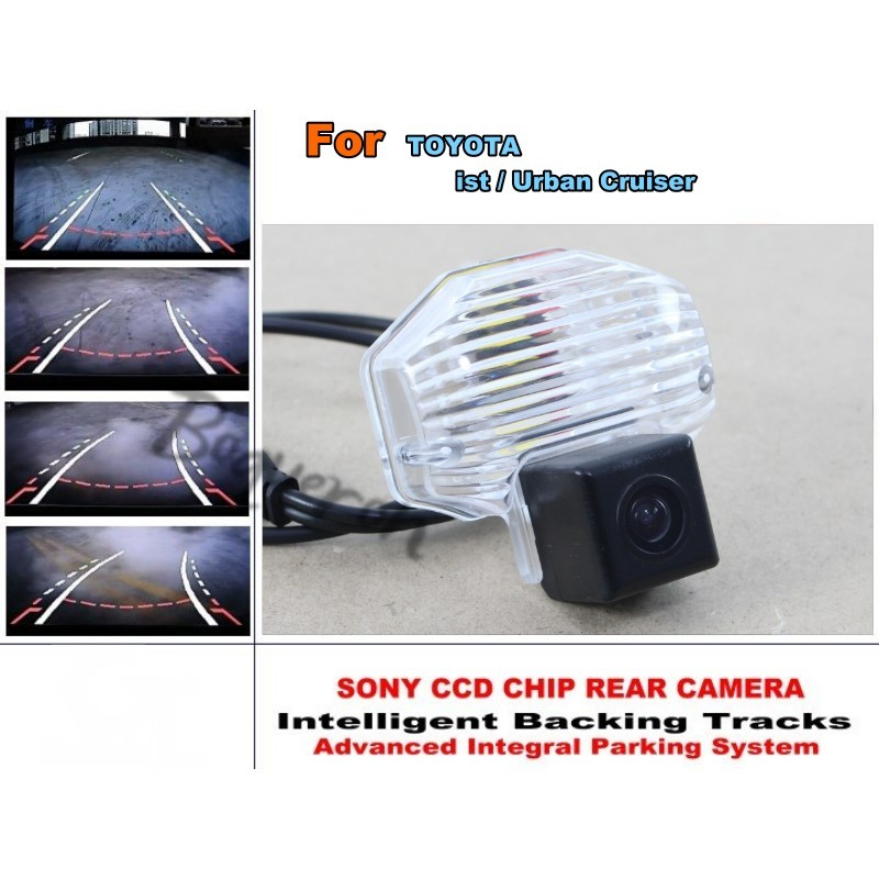 Intelligent Car Parking Camera For TOYOTA ist / Urban Cruiser / with Tracks Module Rear Camera CCD Night Vision  цены