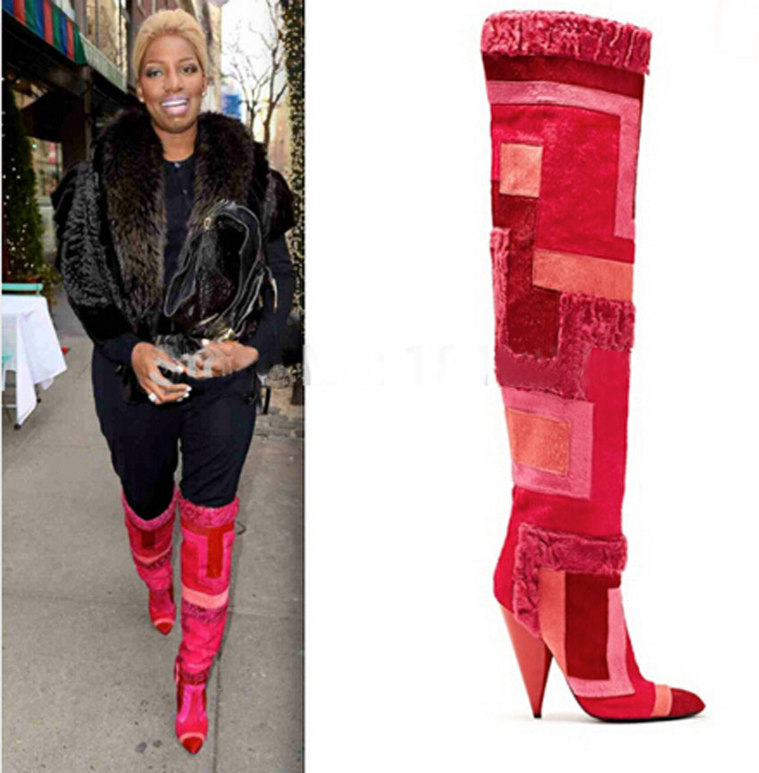 Thigh High Winter Boots Promotion-Shop for Promotional Thigh High ...