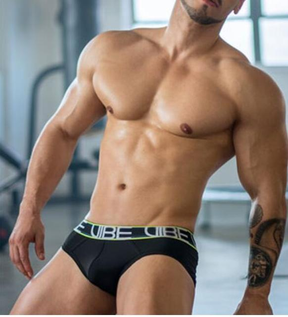 Men Sexy Silky Briefs Underwear Clothes