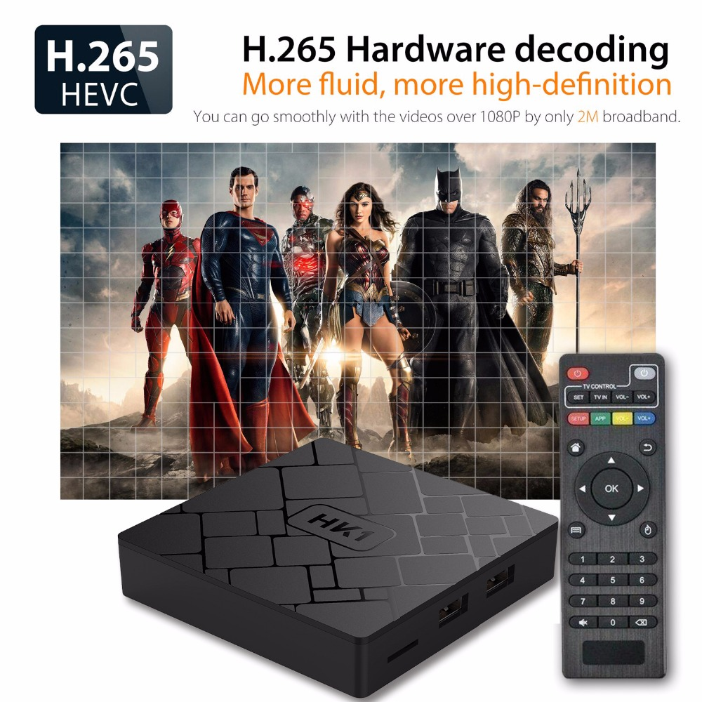 KimTin HK1 TV BOX Android 7.1 2GB 16GB Amlogic S905W dörd nüvəli - Evdə audio və video - Fotoqrafiya 3
