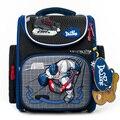 Delune 2019 школьная сумка с героями мультфильмов Mochila Infantil, детский школьный рюкзак для мальчиков, ортопедический рюкзак, студенческий школьный...