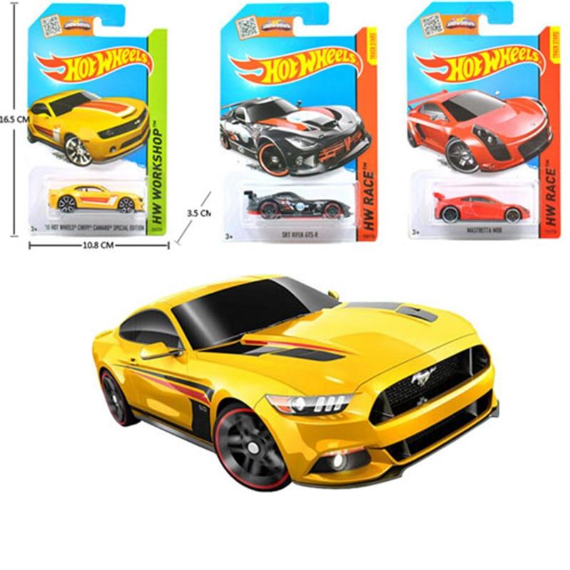 Hotwheels Cars Children Toy Collectible-Model Alloy Mini 1pcs for C4982/sent-Random Car-Toy