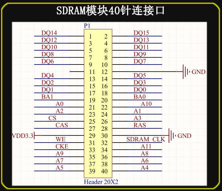 For FPGA SDRAM Module 128Mbit compatible for DE0 development board support  for NIOS demoboard Extension Module
