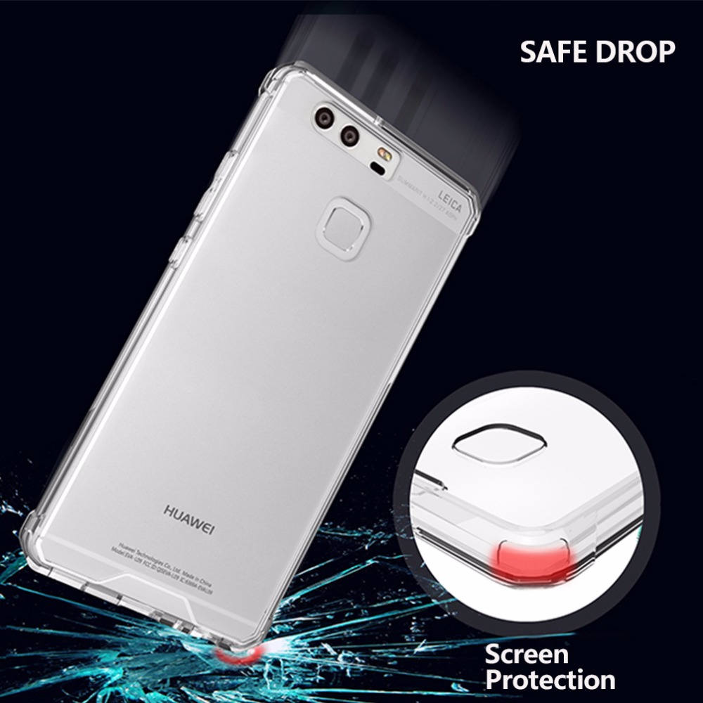 för P9-fodral Klar skyddsfodral för Huawei Mate 9 Väska - Reservdelar och tillbehör för mobiltelefoner - Foto 5