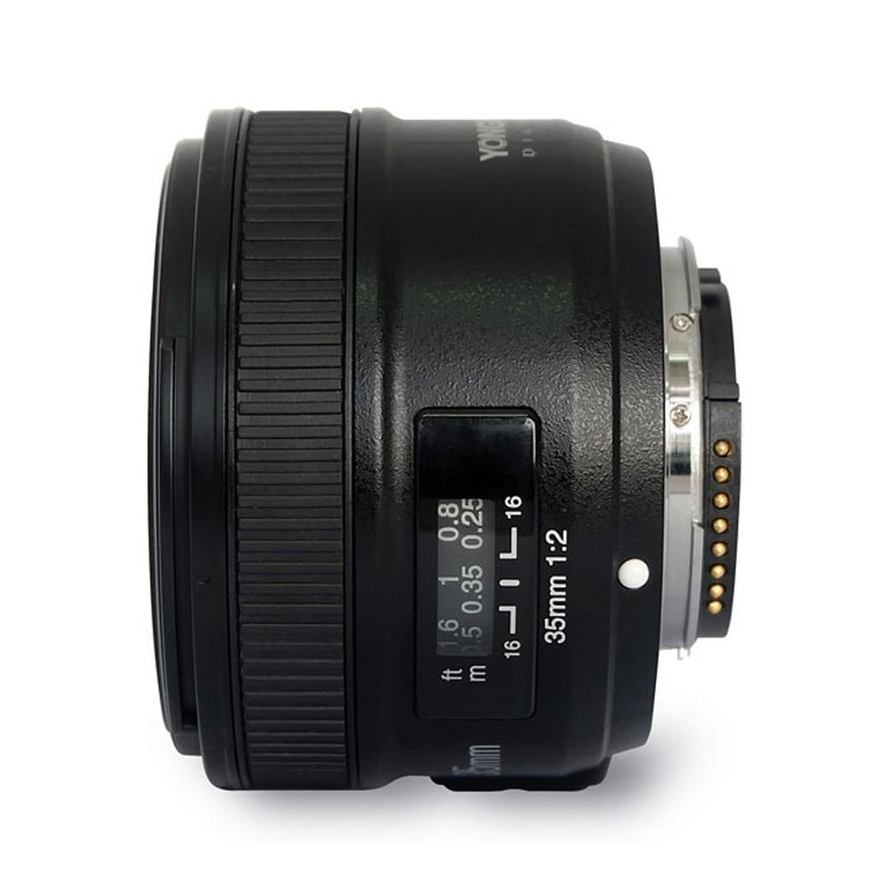 Originele YONGNUO YN 35mm Camera Lens F2 Lens 1: 2 AF / MF Groothoek - Camera en foto - Foto 3