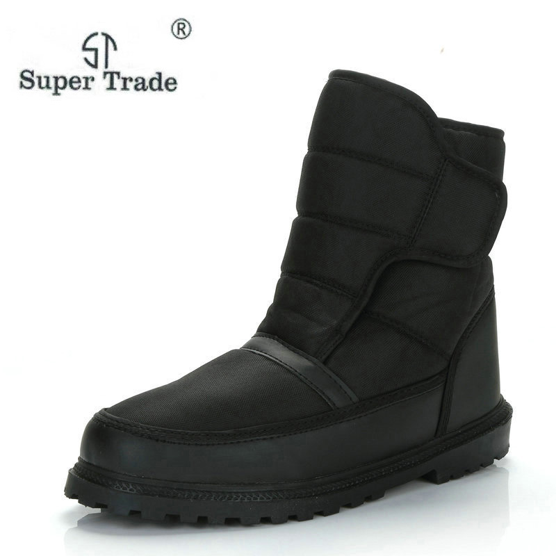 Super Warm Cotton Boots For Women Winter Snow Boots New Fashion Solid Boots Waterproof Non-Slip Woman Shoes Balck Plus Size недорго, оригинальная цена
