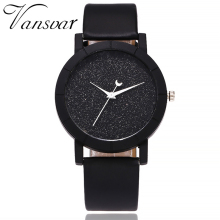 Cute Moon Stars Design Analog Wrist Watch Women Unique Romantic Starry Sky Dial Casual Fashion Quartz Watches Gift Clock